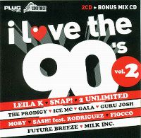 Cover  - I Love The 90's Vol. 2 [WA]